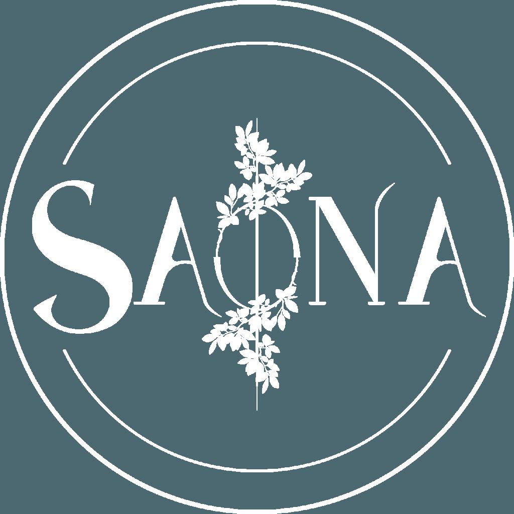 Logo Saona - Maître Artisan Fleuriste à Metz, Moselle, Lorraine, Grand Est. Bouquets Mariage Deuil Evénement Fleurs Plantes vertes