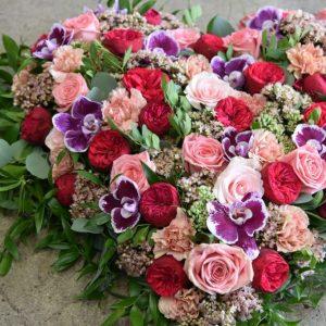 photo de fleurs, bouquet, composition florale deuil - Saona Maître Artisan Fleuriste à Metz